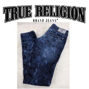 TR Tye dyed Skinny Jeans